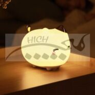 چراغ خواب عروسکی بیسوس مدل Baseus Cute Series DGAM-A02 kitty Silicone Night Light
