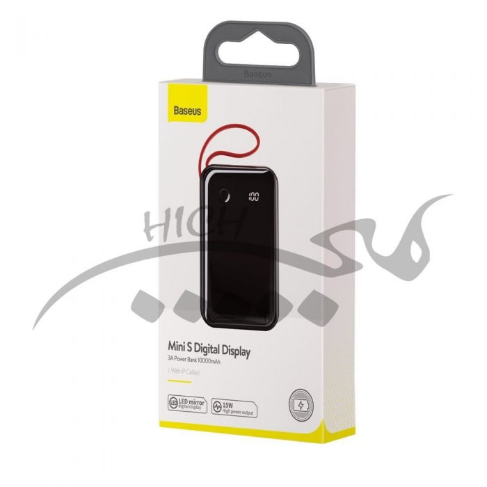 Baseus Mini S Digital Display 3A Power Bank 10000mAh