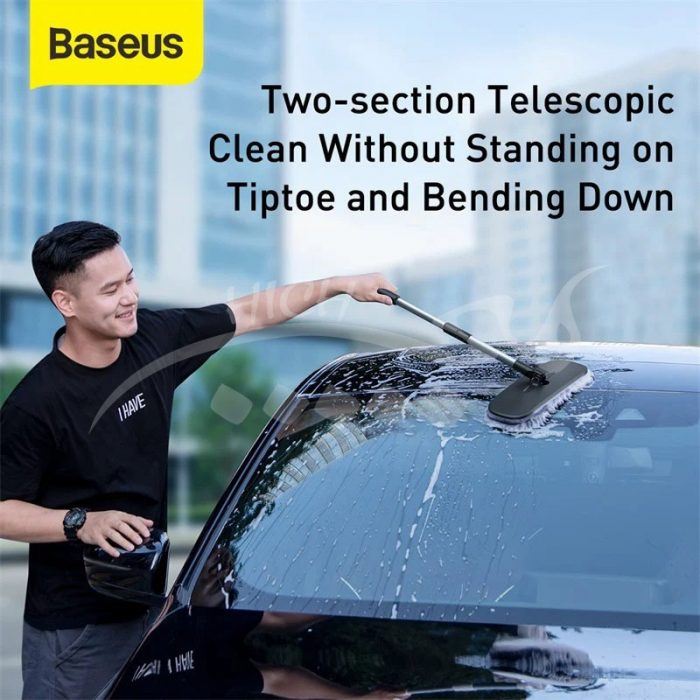 فرچه کارواش بیسوس BASEUS Telescoping Car Wash Mop Cleaner