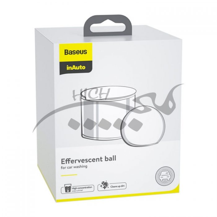 توپ جوشان کارواش Baseus CRPTQ-0V Smart Suds Bubble Ball