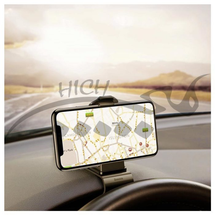 هولدر موبایل یسیدو Baseus Mouth Car Mount Holder Dashboard