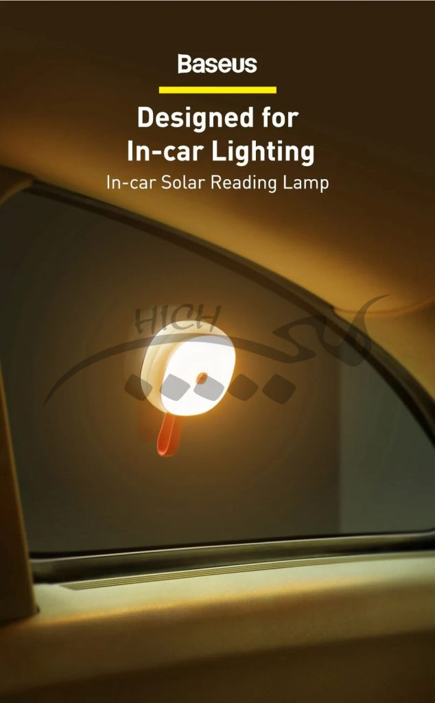 چراغ مطالعه بیسوس Baseus In-Car Solar Reading Lamp CRYDD02-01