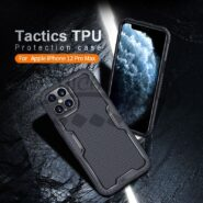 قاب محافظ نیلکین آیفون Apple iPhone 12 Pro Max Tactics Riich TPU Case