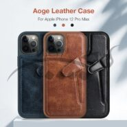 قاب چرمی نیلکین آیفون Apple iPhone 12 Pro Max Nillkin Aoge Leather Cover