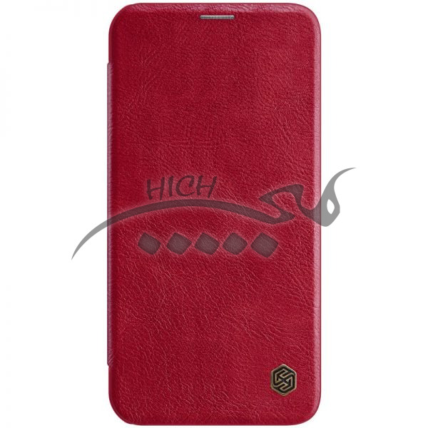 کیف چرمی نیلکین آیفون Apple iPhone 12 Pro max Nillkin Qin Leather Case